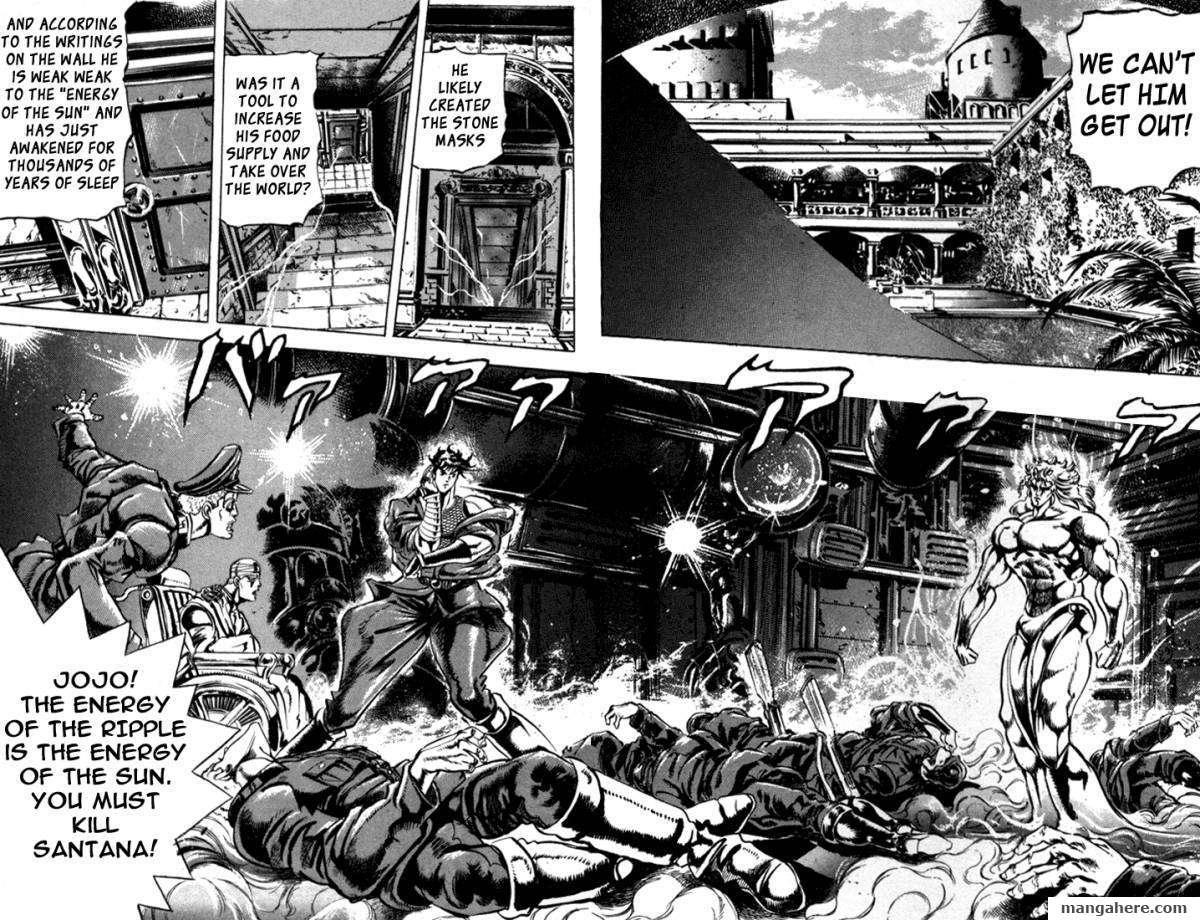 JoJo's Bizarre Adventure Part 2: Battle Tendency 2 Page 2