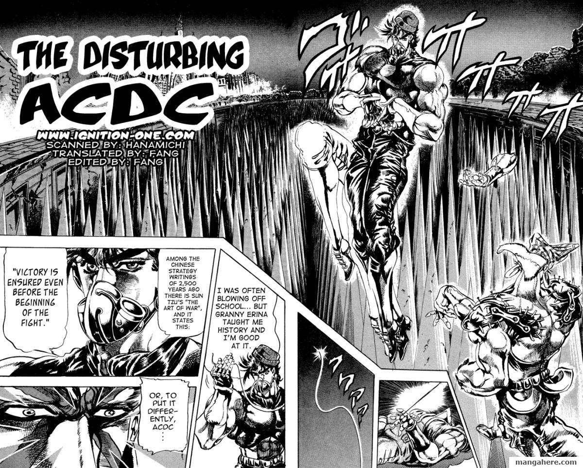JoJo's Bizarre Adventure Part 2: Battle Tendency 4 Page 2