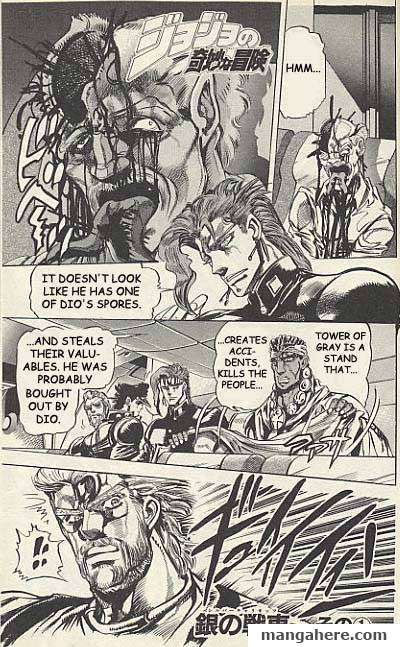 JoJo's Bizarre Adventure Part 3: Stardust Crusaders 7 Page 1