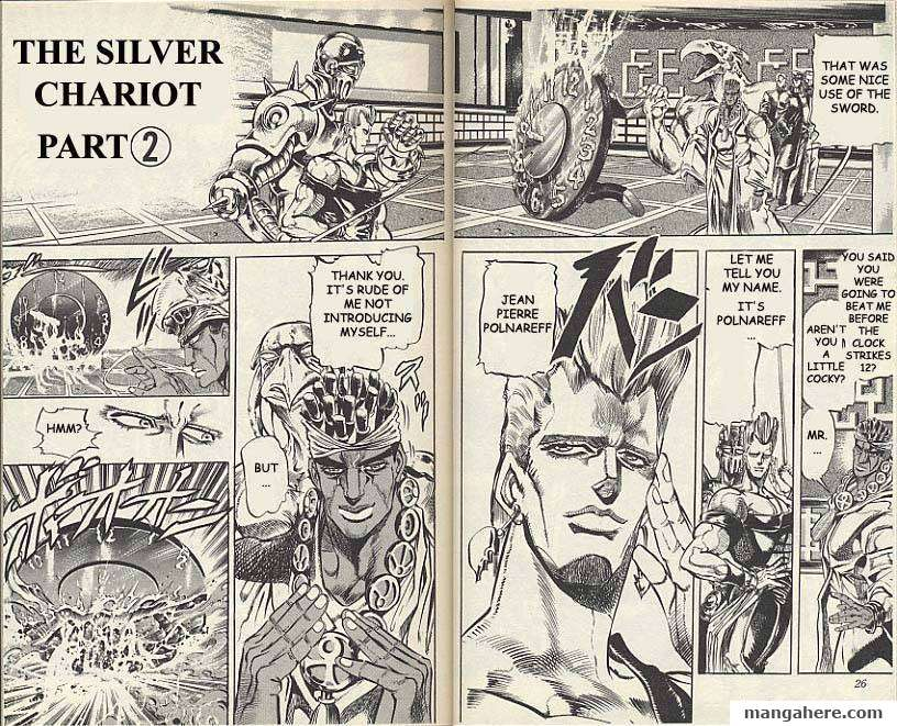 JoJo's Bizarre Adventure Part 3: Stardust Crusaders 10 Page 1