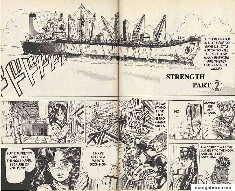 JoJo's Bizarre Adventure Part 3: Stardust Crusaders 17 Page 2