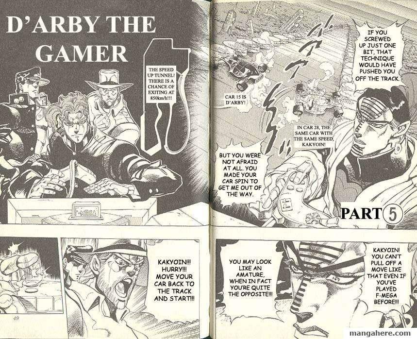 JoJo's Bizarre Adventure Part 3: Stardust Crusaders 116 Page 1
