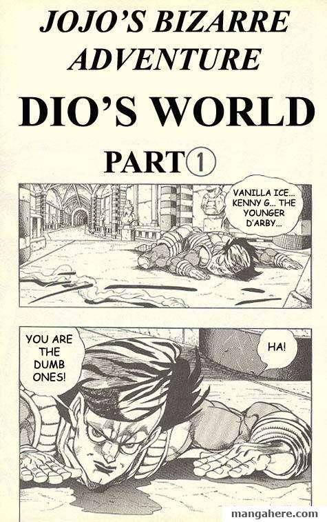 JoJo's Bizarre Adventure Part 3: Stardust Crusaders 133 Page 1