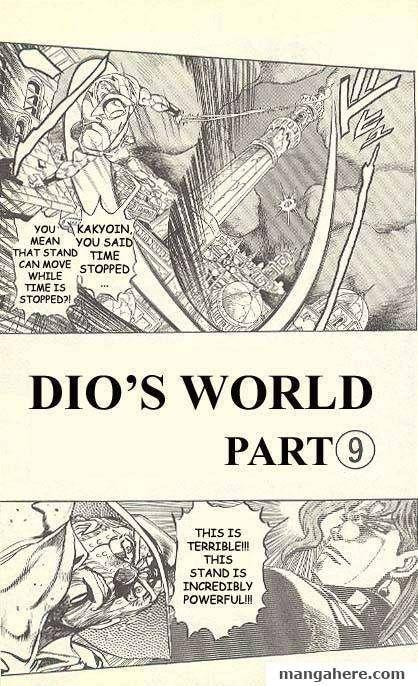 JoJo's Bizarre Adventure Part 3: Stardust Crusaders 139 Page 1