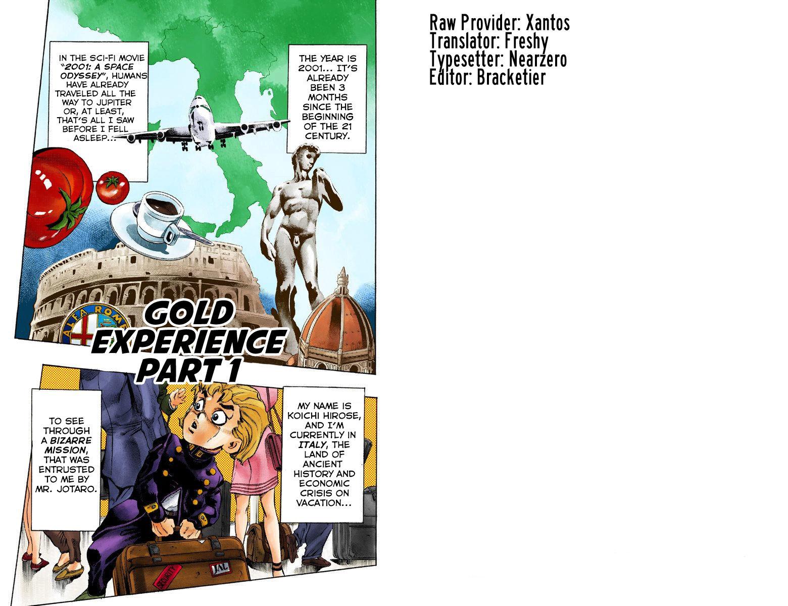 JoJo's Bizarre Adventure Part 5: Vento Aureo 440 Page 2