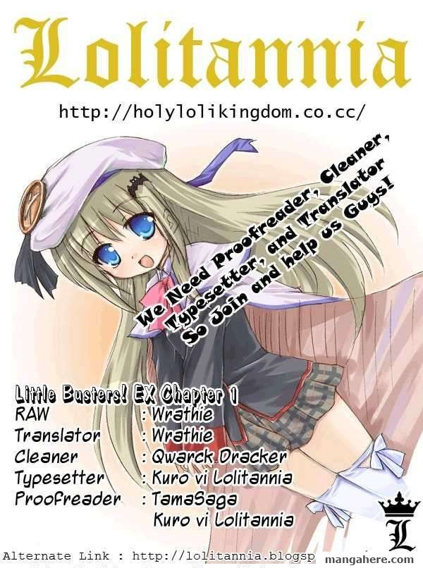 Little Busters! EX the 4-Koma 1 Page 1