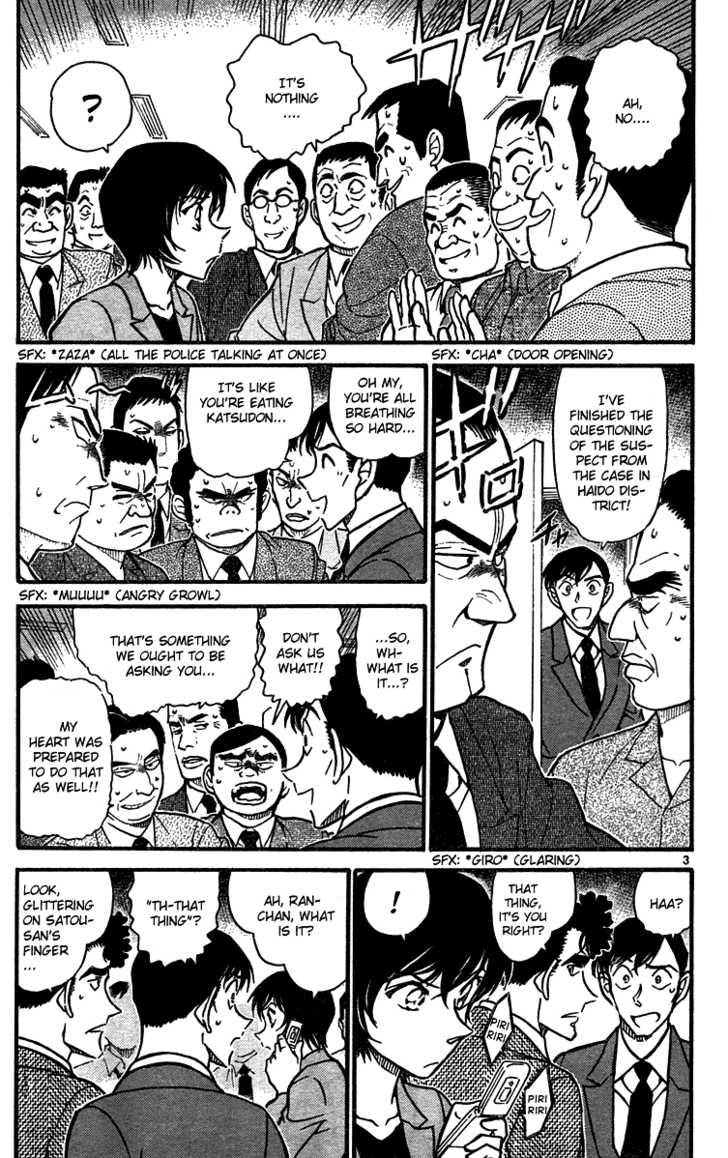 Detective Conan 576 Page 3