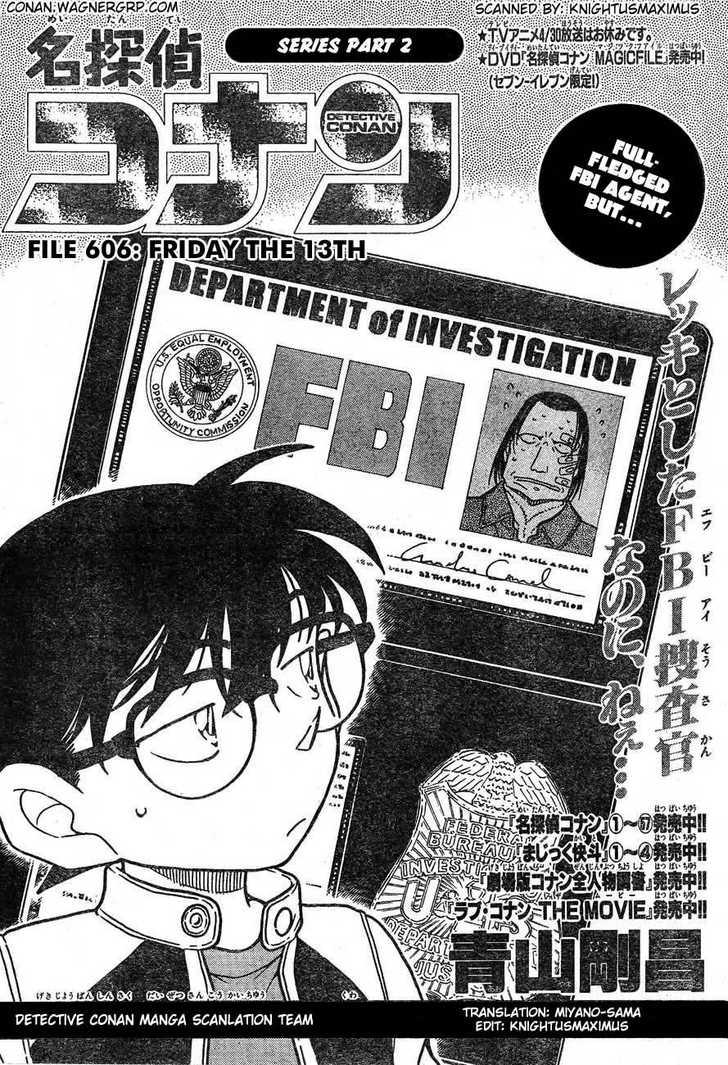 Detective Conan 606 Page 1