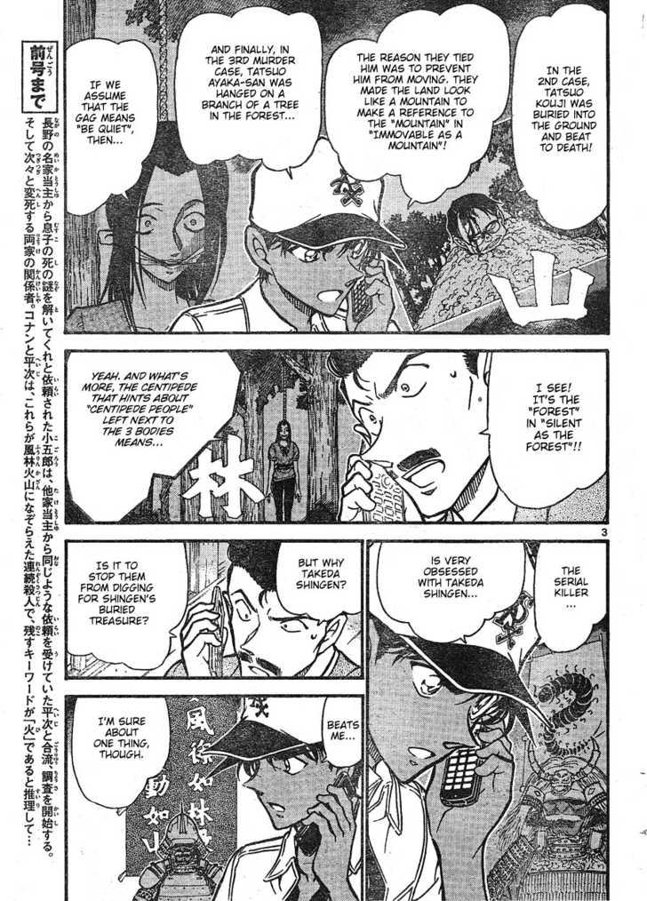 Detective Conan 616 Page 3