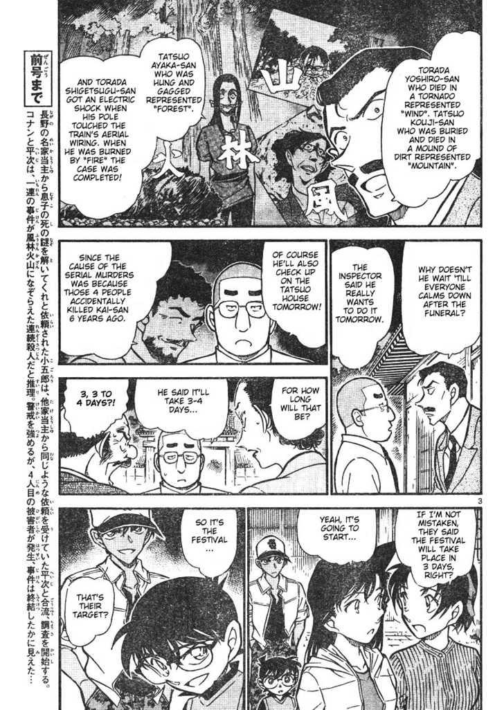Detective Conan 618 Page 3