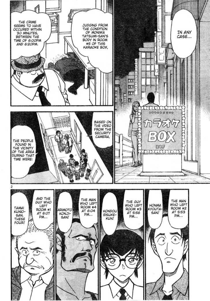 Detective Conan 621 Page 2