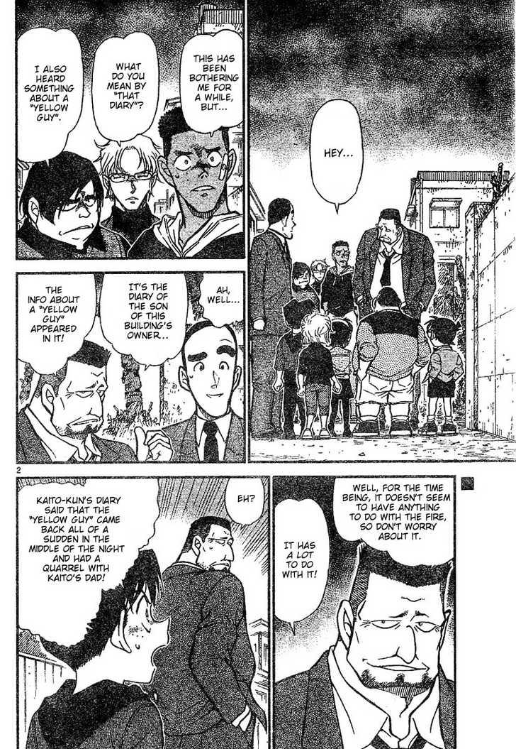Detective Conan 624 Page 2