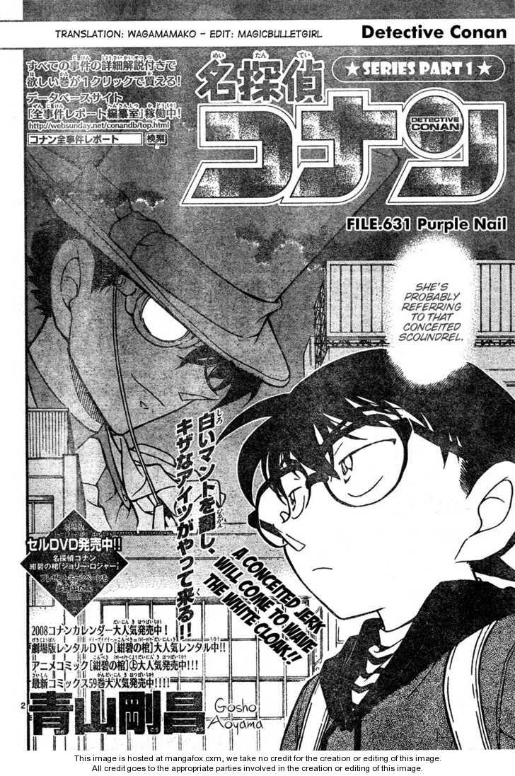 Detective Conan 631 Page 2