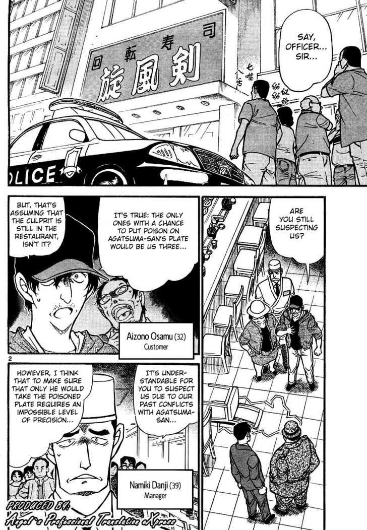 Detective Conan 657 Page 2