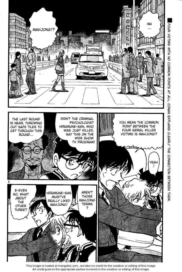 Detective Conan 672 Page 2
