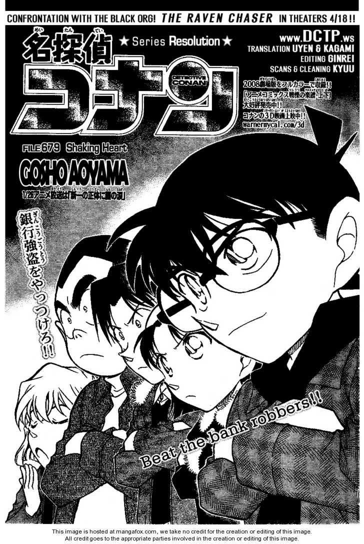 Detective Conan 679 Page 1