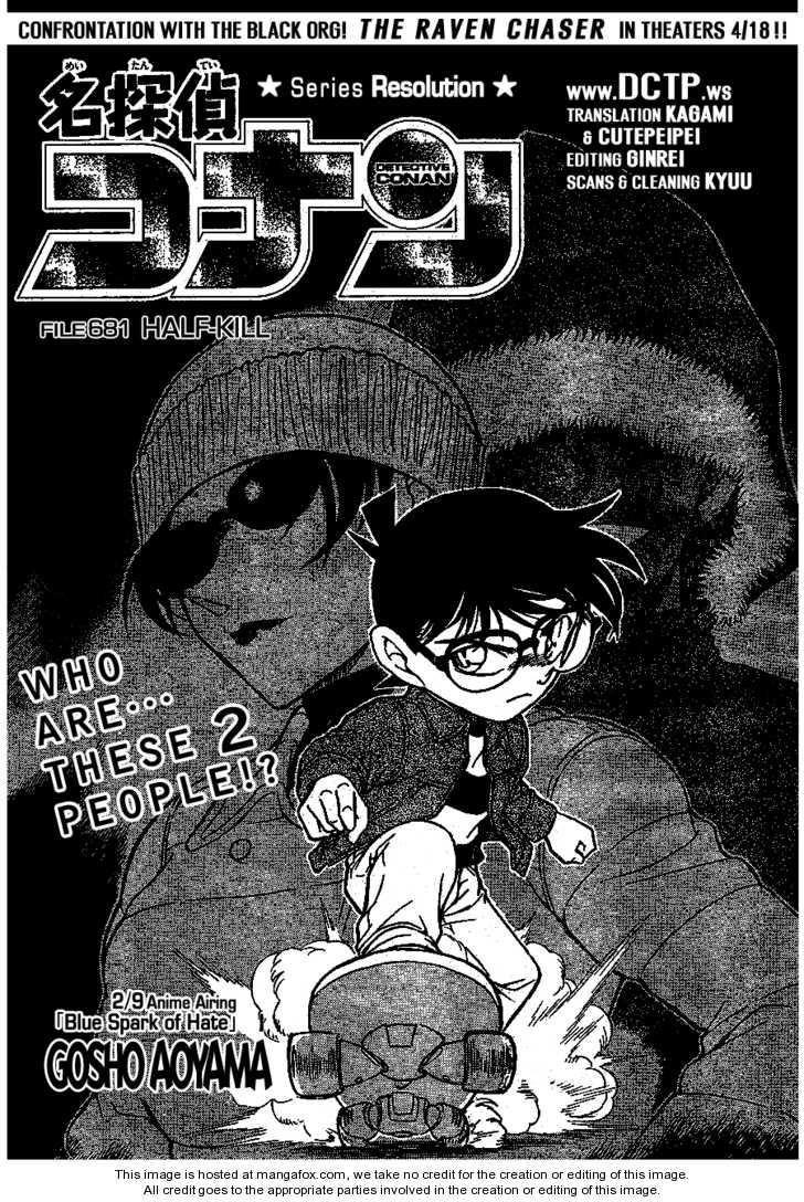 Detective Conan 681 Page 1