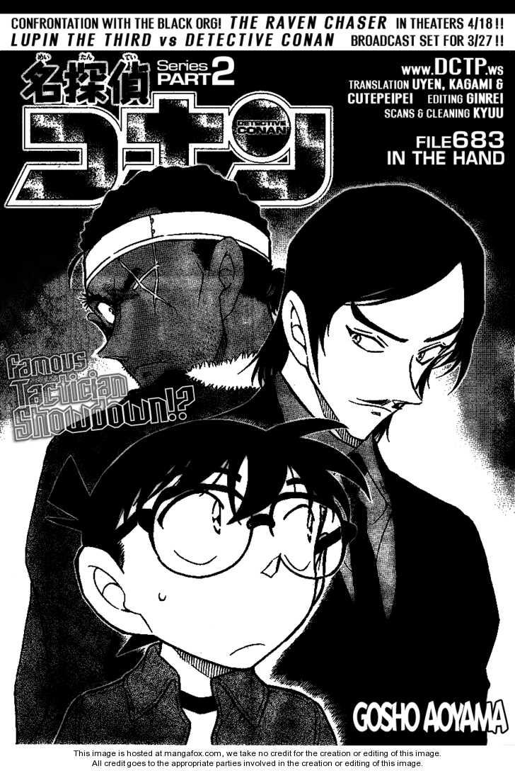 Detective Conan 683 Page 1