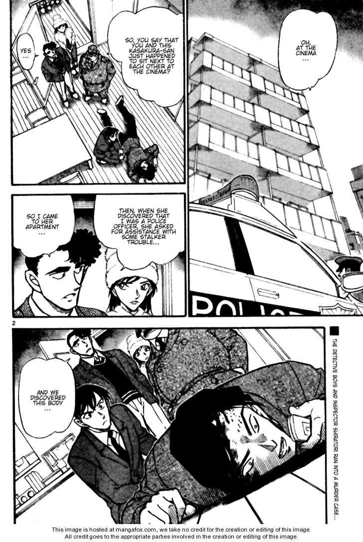 Detective Conan 688 Page 2