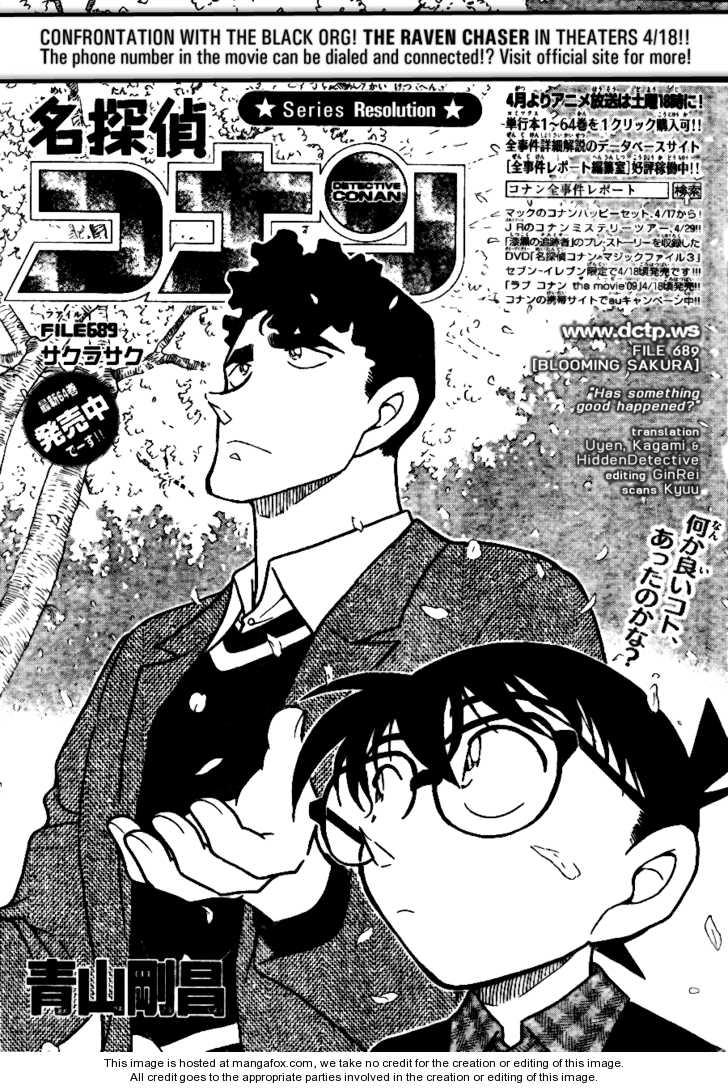 Detective Conan 689 Page 1