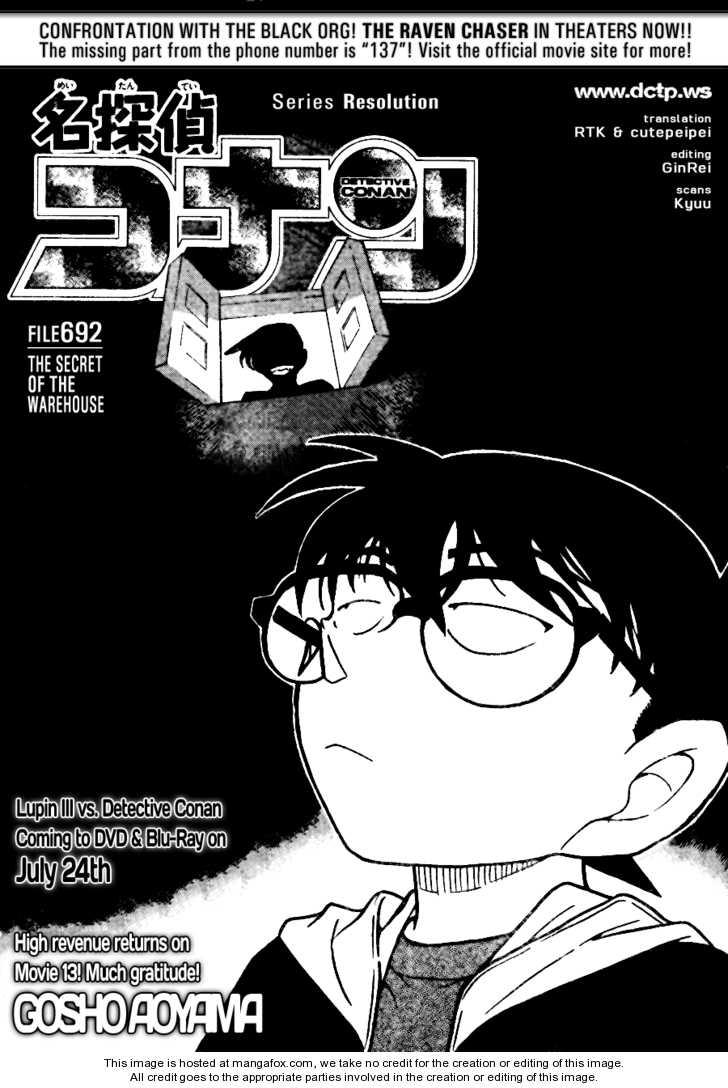 Detective Conan 692 Page 1