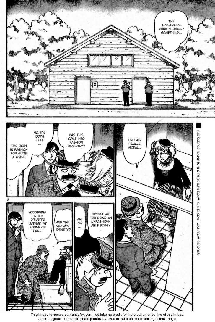 Detective Conan 697 Page 2