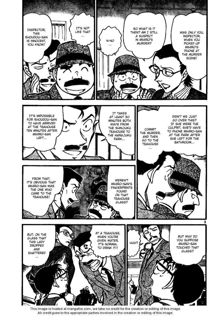 Detective Conan 698 Page 3