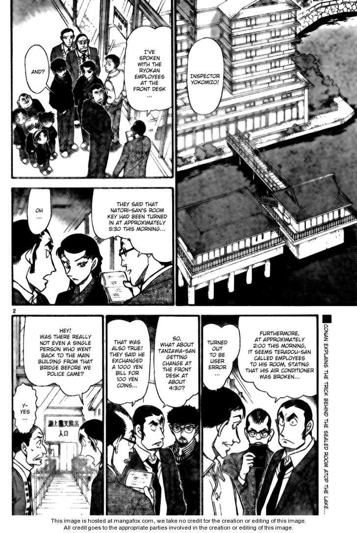 Detective Conan 724 Page 2