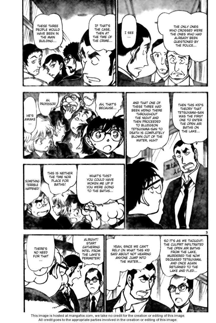 Detective Conan 724 Page 3