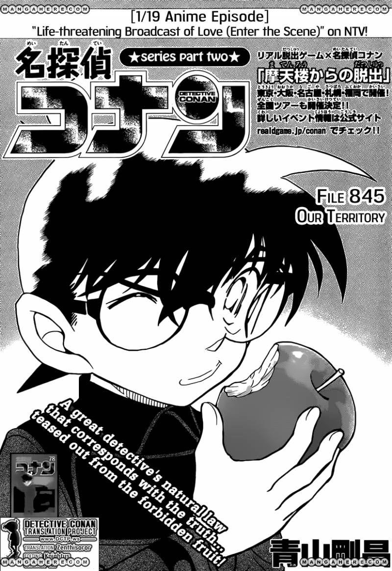 Detective Conan 845 Page 1