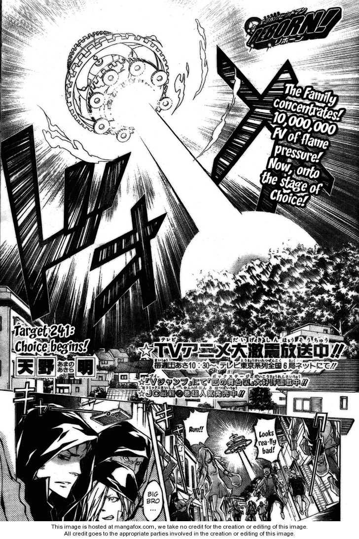 Katekyo Hitman Reborn 241 Page 2