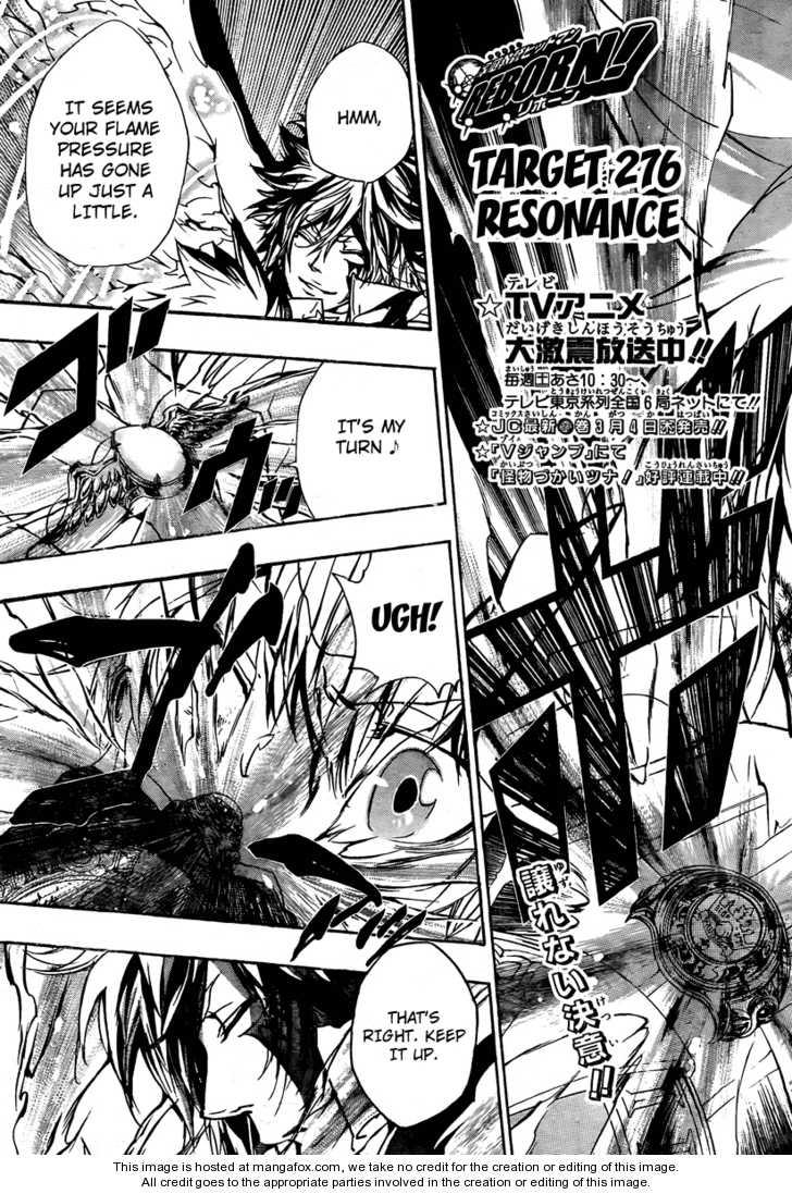 Katekyo Hitman Reborn 276 Page 3