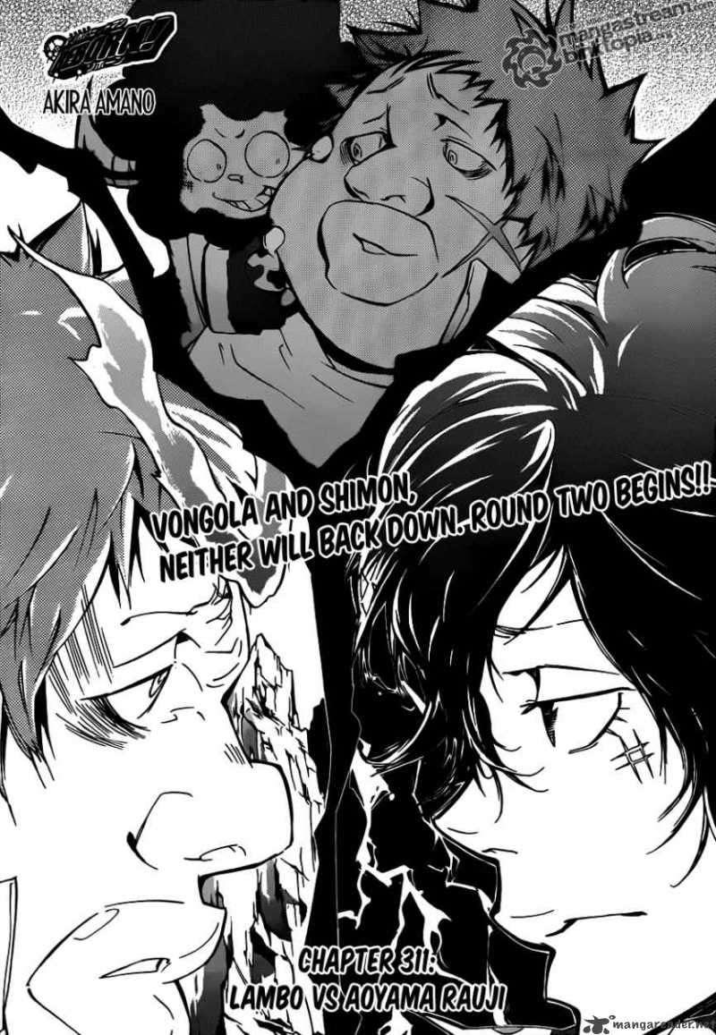 Katekyo Hitman Reborn 311 Page 1