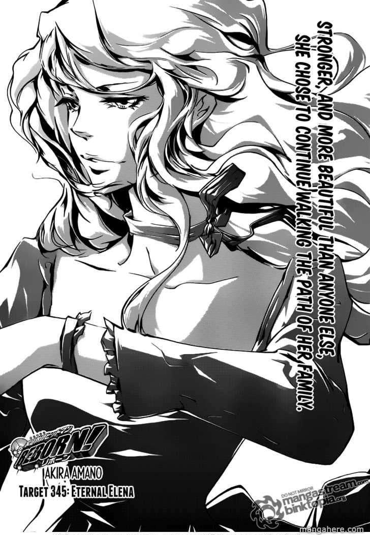 Katekyo Hitman Reborn 345 Page 1