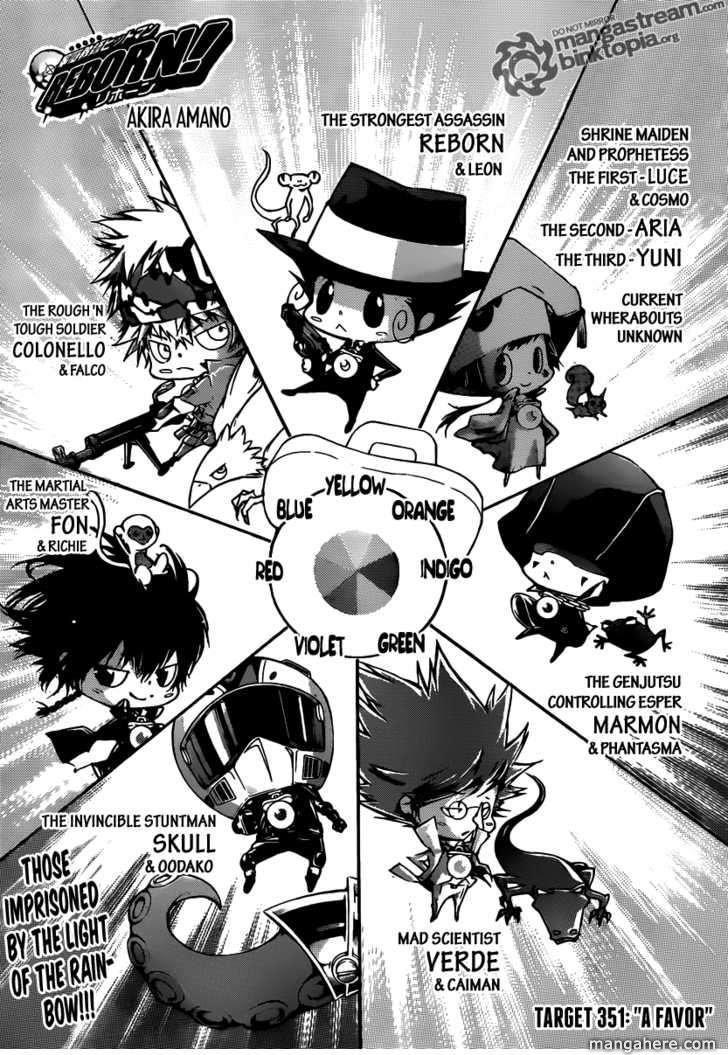 Katekyo Hitman Reborn 351 Page 1