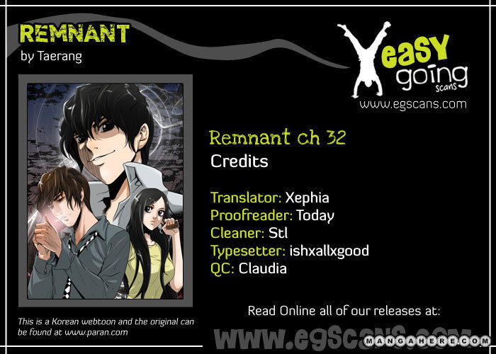 Remnant 32 Page 1