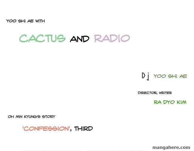 Cactus and Radio 3 Page 1