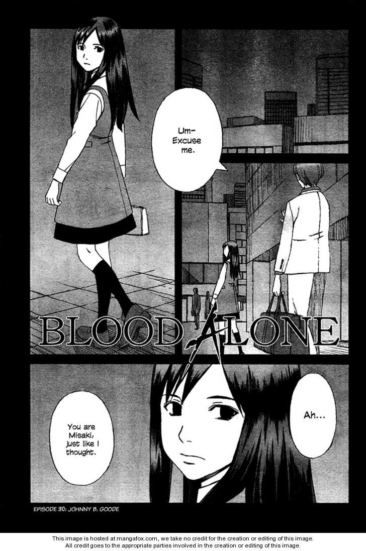BLOOD ALONE 30 Page 1