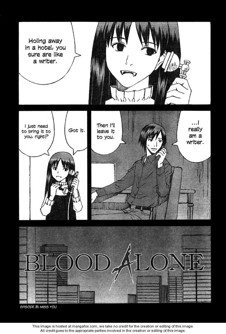 BLOOD ALONE 31 Page 1