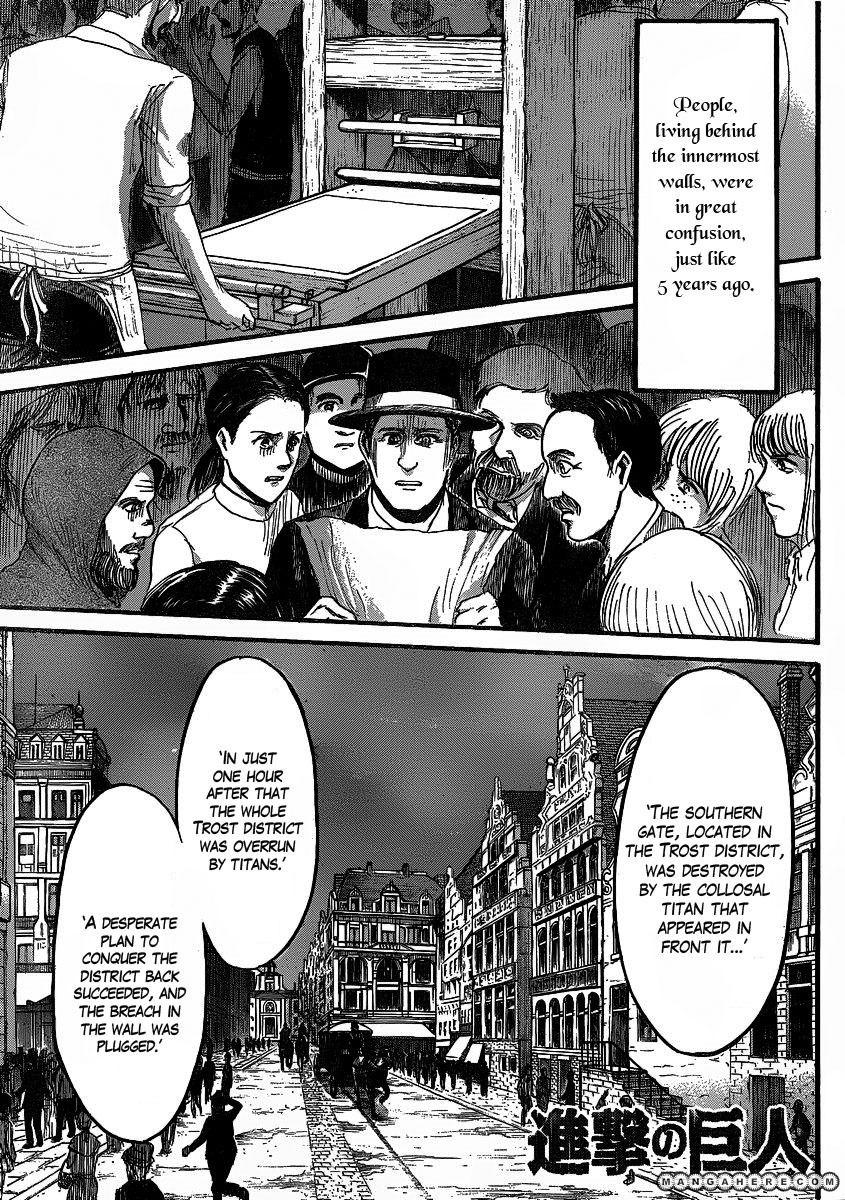 Shingeki no Kyojin 19 Page 1