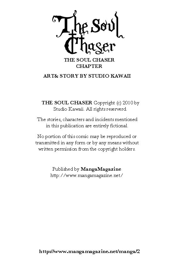 The Soul Chaser 12 Page 1