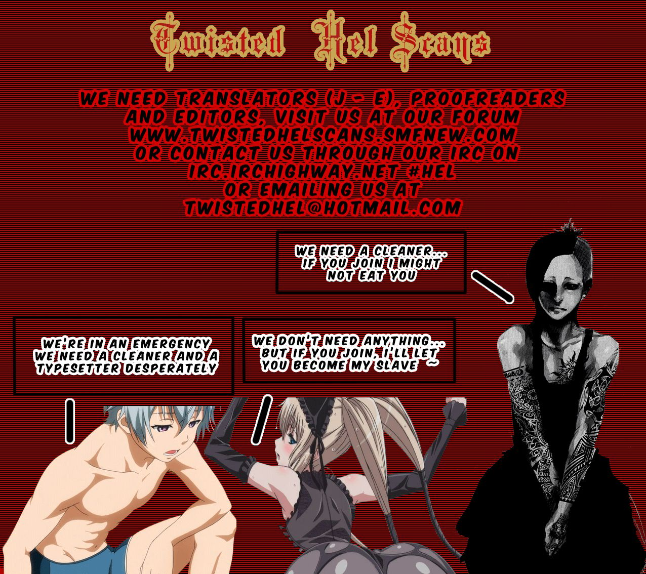 Blood Lad 31 Page 1