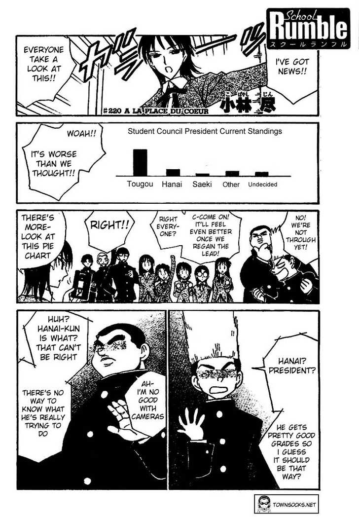 School Rumble 220 Page 1