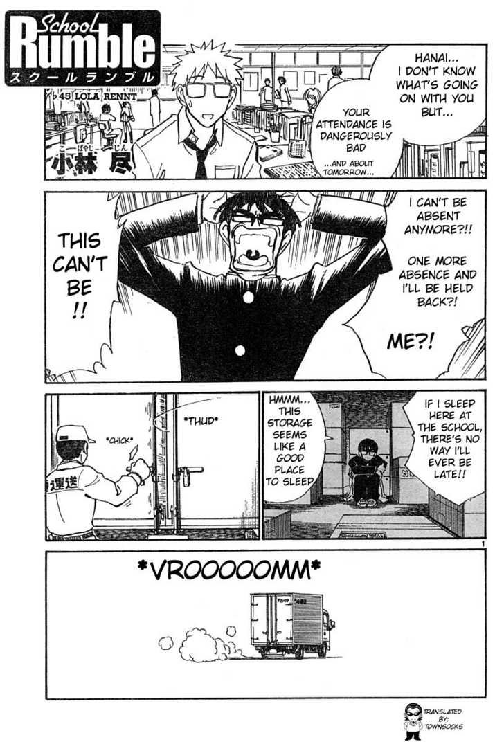 School Rumble 45 Page 1
