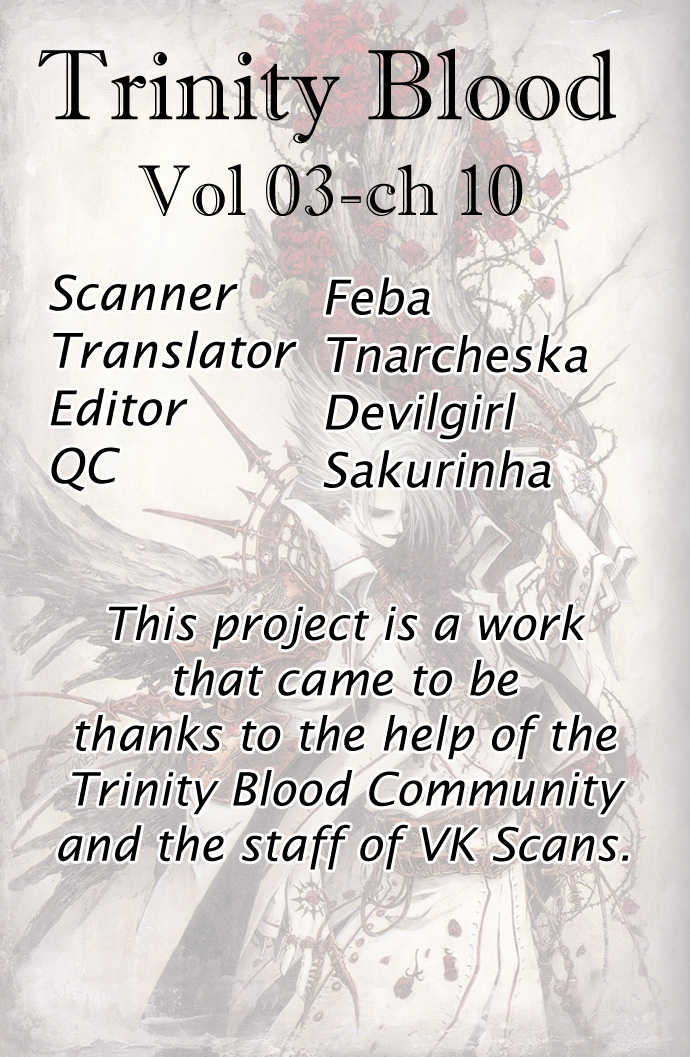 Trinity Blood 10 Page 1