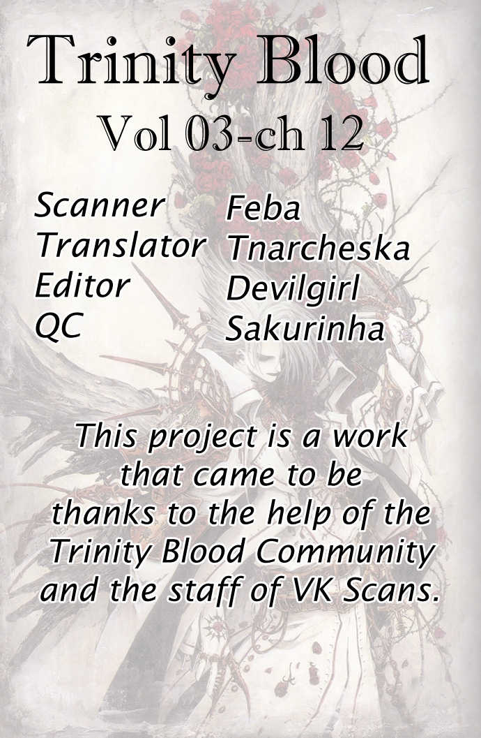 Trinity Blood 12 Page 1