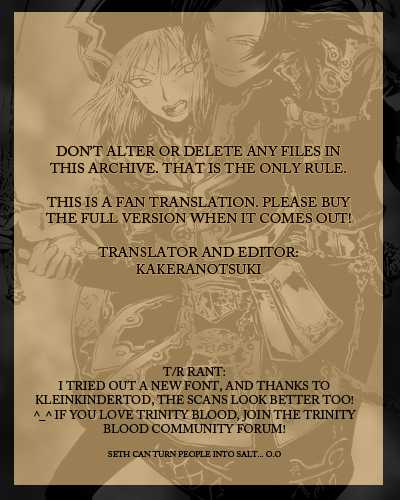 Trinity Blood 27 Page 1