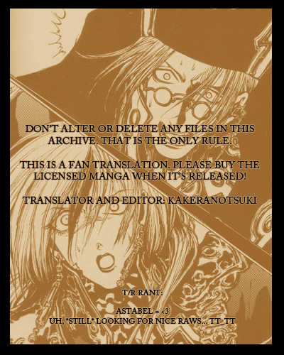 Trinity Blood 31 Page 1