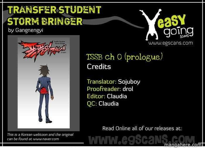 Transfer Student Storm Bringer 0 Page 1