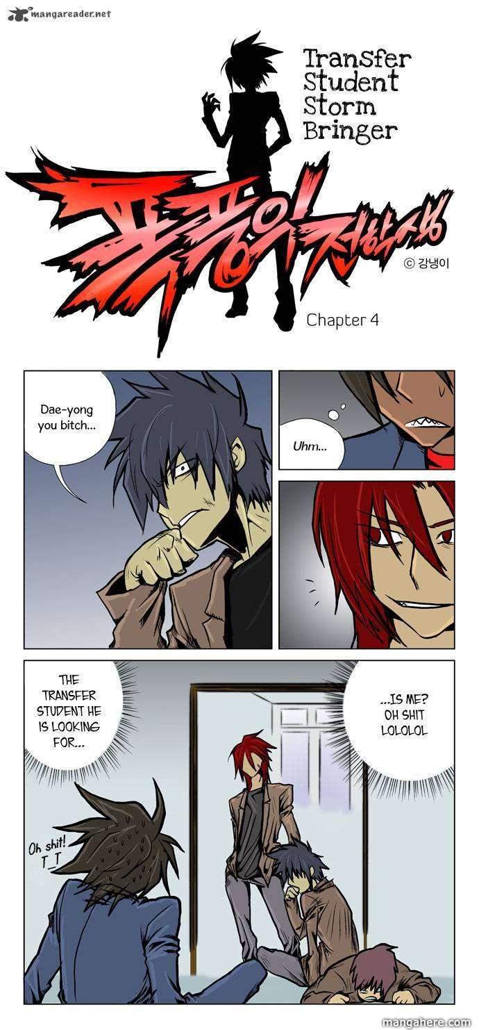Transfer Student Storm Bringer 4 Page 2